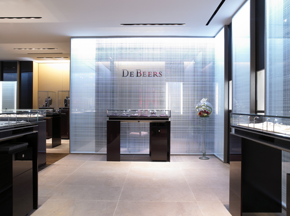 De Beers Houston Interior Photo