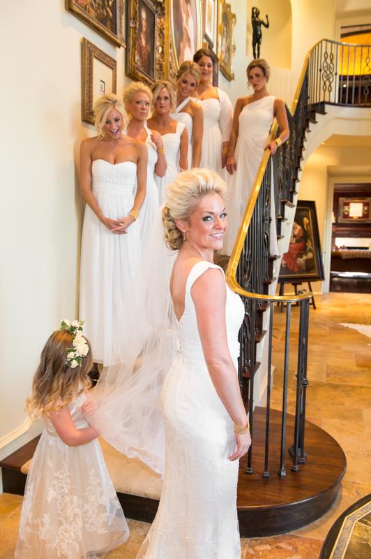 Odessa Wedding Bridal Party