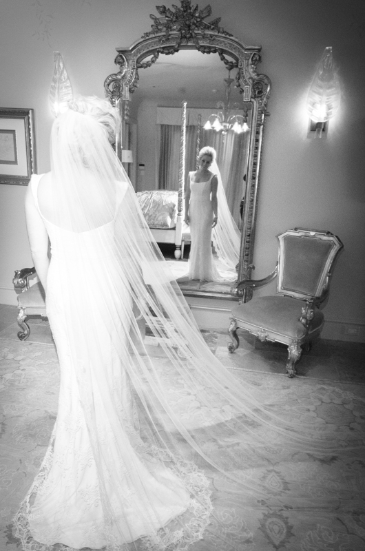 top rated photographer near me Bride in Mirror