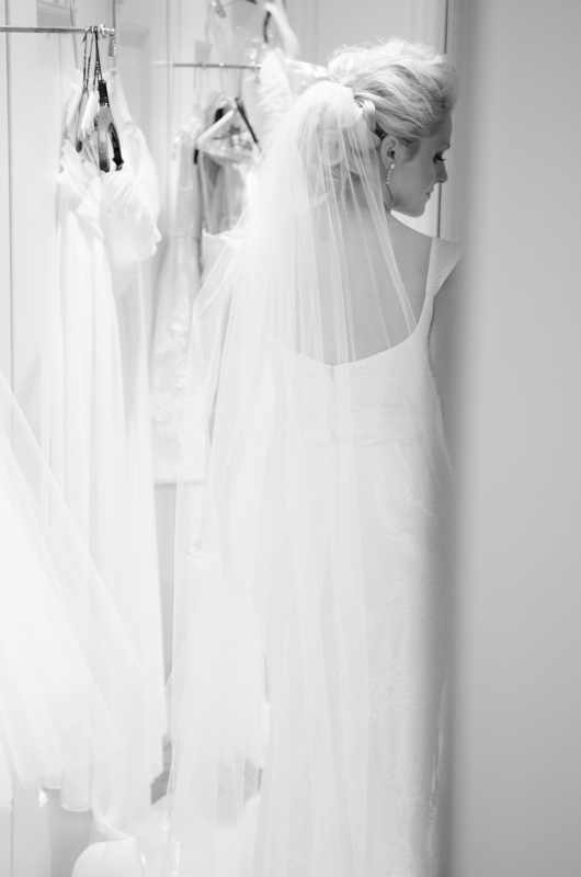 Bride with Dresses