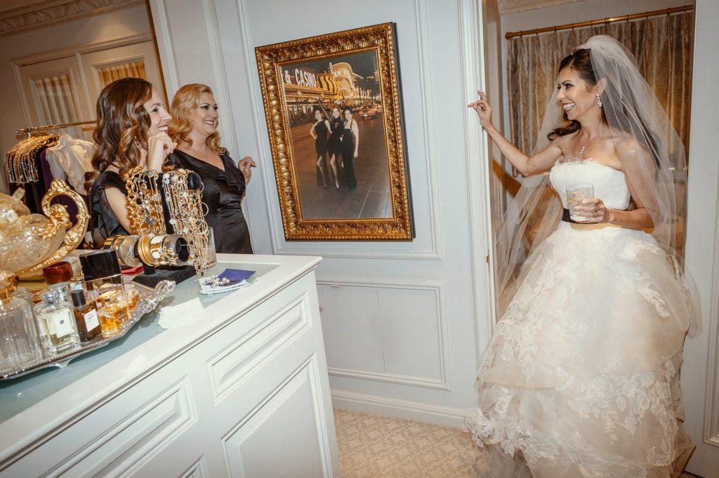 Fine art wedding photo